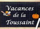 Vacances Scolaire Toussaint